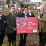 rory opens Eden Tourism Week