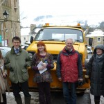 Rory Supporting Winter Gritting in Alston