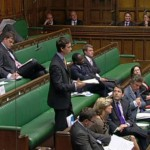 Speaking in the House of Commons