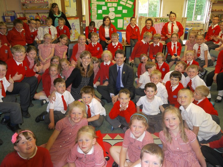 Rory Stewart MP at St Cuthberts school