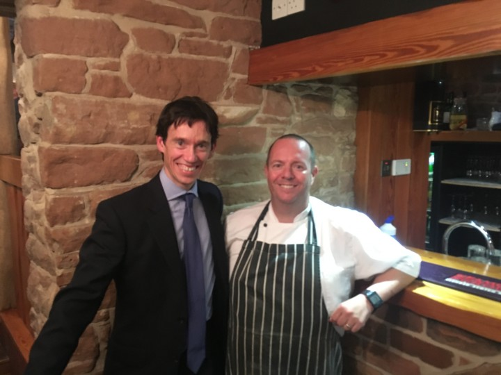 Rory Stewart Pub Nomination with Stephen Kierney of The Cross Keys (1)