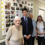 Rory Stewart MP With Staff and Residents