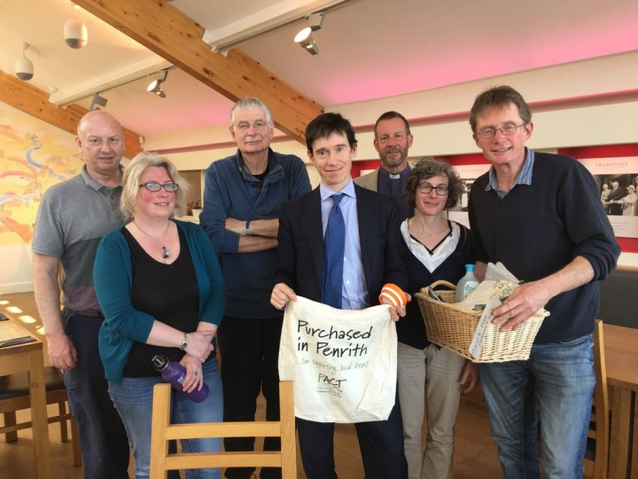 Rory Stewart MP with PACT