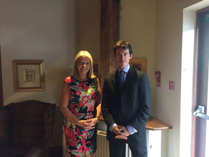 Rory Stewart and Rose Rouse