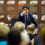 NFU FRINGE EVENT - CONSERVATIVE PARTY CONFERENCE NATIONAL FARMERS UNION