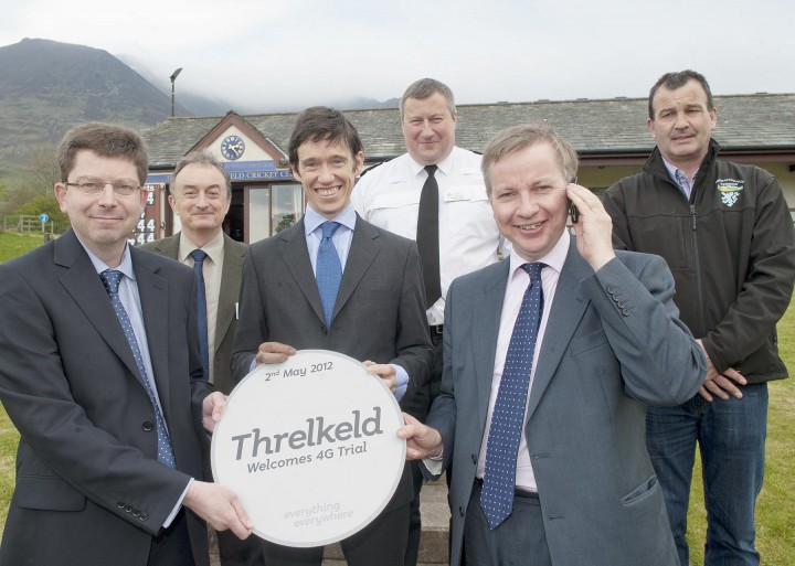 Rural 4G Trial in Threlkeld