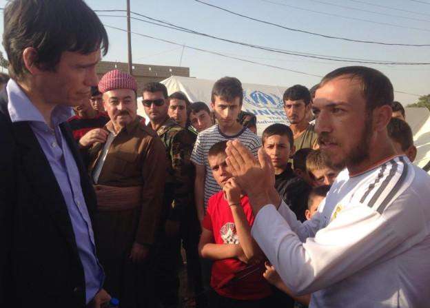Rory in Iraq
