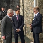 RORY STEWART MP AND HRH THE PRINCE OF WALES