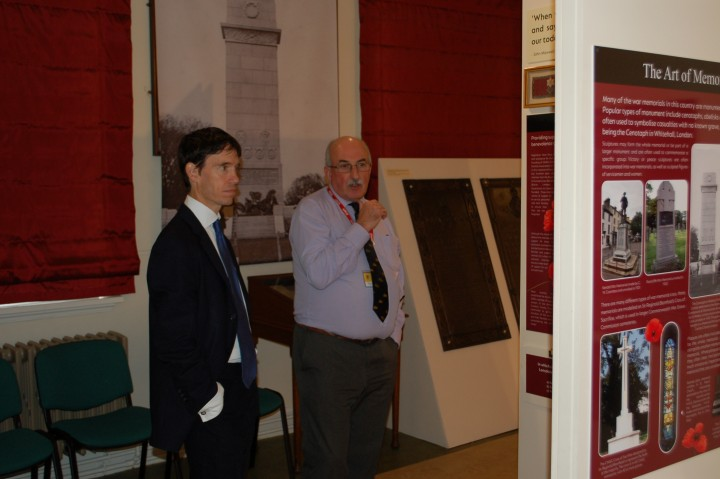 Rory Stewart MP with Stuart Eastwood