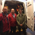 Rory Stewart MP at Mountain Rescue