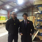 Rory Stewart MP at Eden Insulation