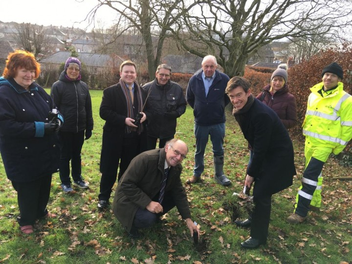 Rory Stewart MP at the Planting