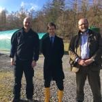 Rory Stewart - Cooke Aquaculture visit